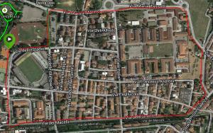 Percorso 2 Stadio-via dei Macelli-Porta San Marco-Stadio